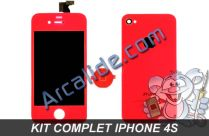 ecran iphone 4s rouge