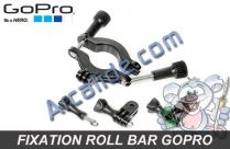 fixation roll bar gopro