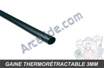tube thermo 3mm noir