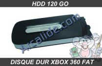 hdd xbox360 fat 120 Go