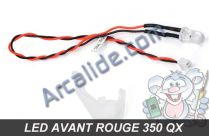 led avant rouge 350 qx