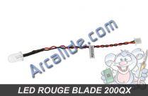 Leds rouges blade 200 qx