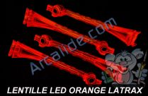 lentille led orange alias