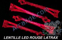 lentille led rouge alias