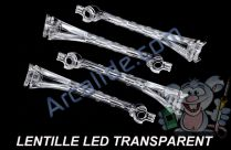 lentille led transparent