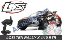 losi ten rally x rtr