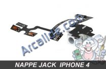 nappe jack iphone 4 blanc