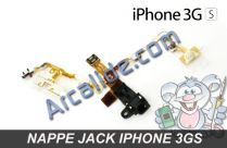 Nappe jack iphone 3gs