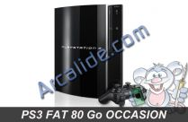 ps3 fat 80 go occasion