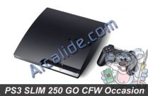 ps3 slim 250 go cfw 4.40