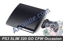 ps3 slim 320 go cfw 4.40