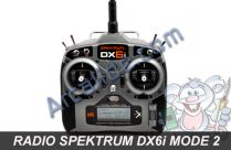 radio dx6i spektrum m2