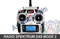 radio dx8 spektrum m2