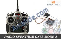 radio dx7s spektrum m2