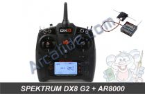 spektrum dx8 g2 ar8000