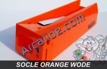 Socle wode orange