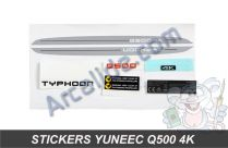 stickers yuneec q500 4k
