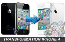 changer couleur iphone4