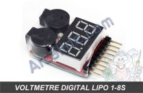 voltmetre lipo digital