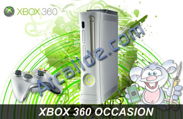console xbox360 flash e hdmi occasion arcalide. Black Bedroom Furniture Sets. Home Design Ideas